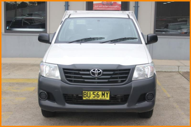 2013 TOYOTA HILUX WORKMATE TGN16R MY14 1455