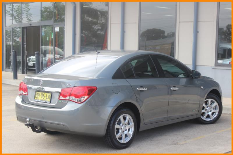 2010 HOLDEN CRUZE CD JG 1579